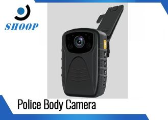China 3000mAh 1296P / 1080P Police Wearing Body Cameras , IR Small Night Vision Body Camera supplier