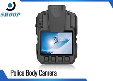 China High Resolution WIFI Police Body Cameras With GPS Drop Resistance 2m supplier