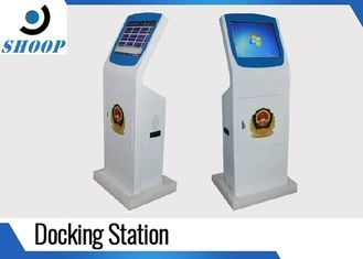 China Law Enforcement Body Camera Docking Station 20 Ports With Management System supplier