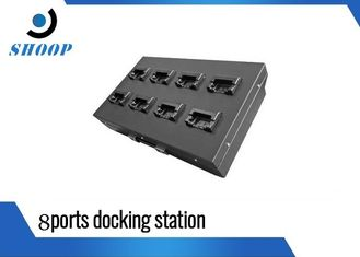 China Uploading / Charging Camera Docking Station For Law Enforcement Recorders supplier