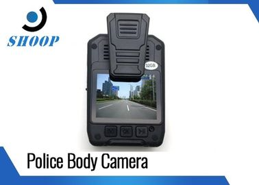 China Multi Resolution HD Body Camera , Police Wearable Camera 140 Degree Wide Angle supplier