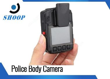 China Infrared Light Wearable Video Camera Police Built - In GPS 94 * 61  * 31 Mm supplier