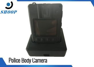 China 32GB Police Evidence Law Enforcement Wear Body Cameras With Shoulder Clip Mount supplier