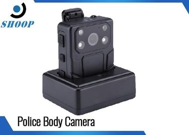 Multi Functional Police Body Mounted Cameras 3200mAh With CMOS OV4689 Sensor