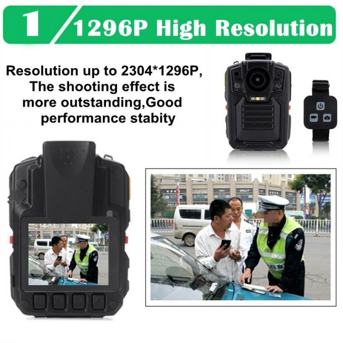 Law Enforcement HD Body Camera WIFI With 2.0 Inch LCD Display