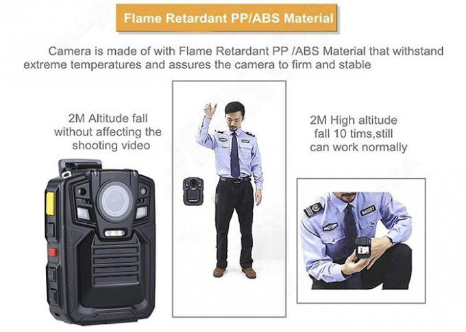 140 Degree Wide Angle Audio Detection Police Body Cameras with Night Vision