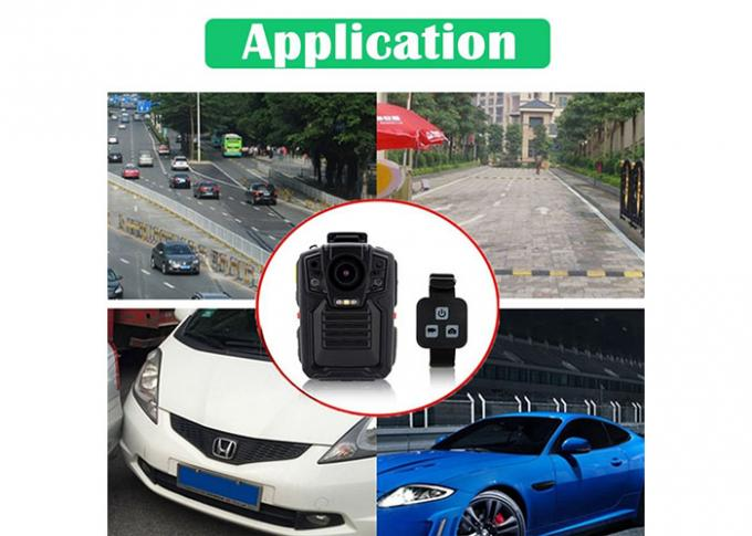 Wifi Night Vision Body Camera Supporting Rechargeable Battery for Police