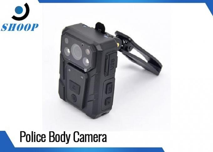 High-Resolution Body Worn Video Camera , 158g Weight Body Cameras For Security
