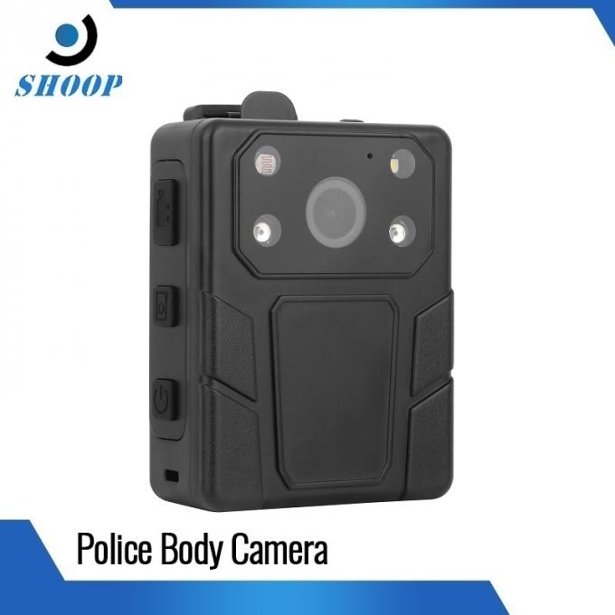 WaterProof Body Camera Recorder With 2 IR Lights 94 Mm * 61 Mm * 31mm