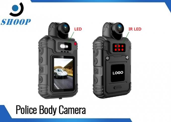 2.0 Inch LCD Body Worn Video Camera , HD 1080P Body Camera With IR Night Vision