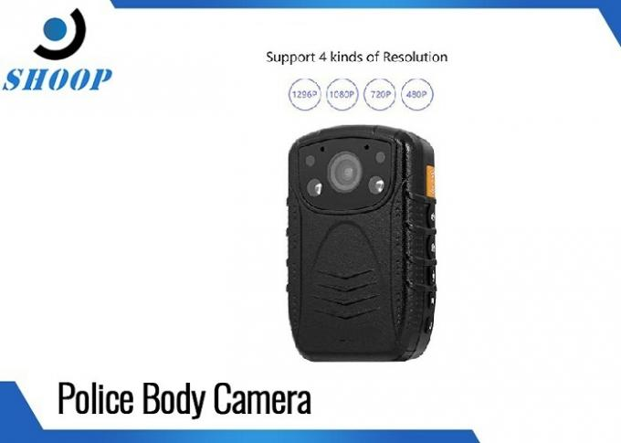 Waterproof Night Vision Body Camera Support Car Mode With 140 Degree Wide Angle