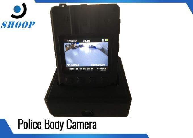Wireless Police Force Tactical Body Camera , Small Police Body Camera One Button