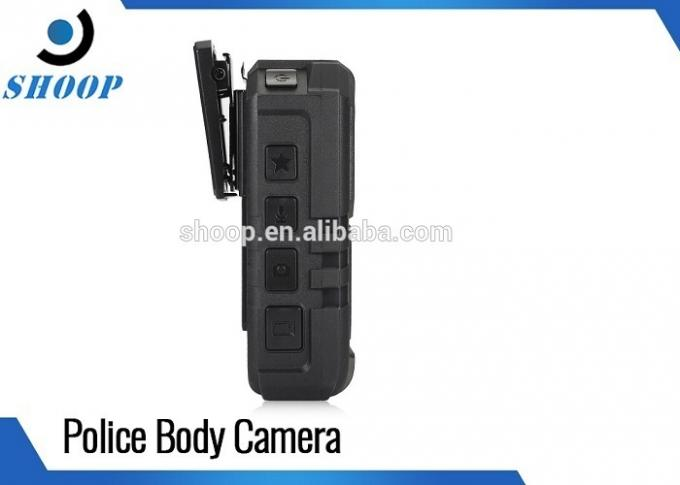 5MP CMOS Sensor Police Officers Wearing Body Cameras GPS 10 Hours Recording