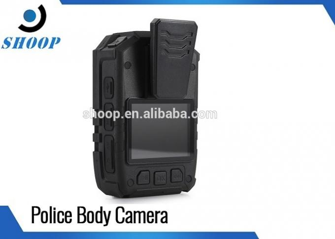 Waterproof Night Vision Body Worn Camera Law Enforcement With Live Streaming Video
