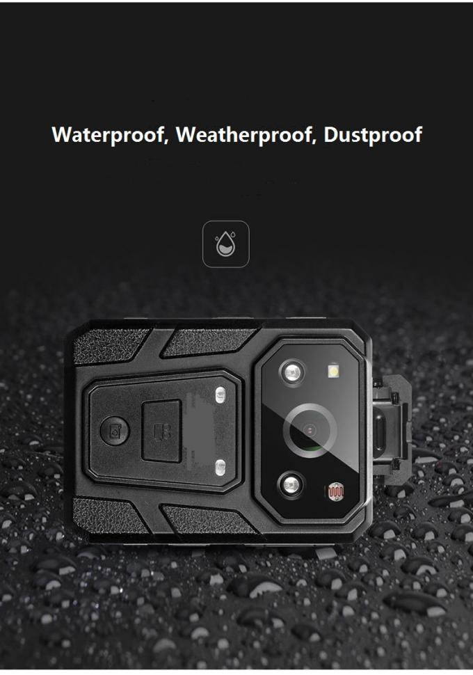 Wearable DVR Mini Body Worn Video Camera 1080P Waterproof GPS 3500mAh Battery
