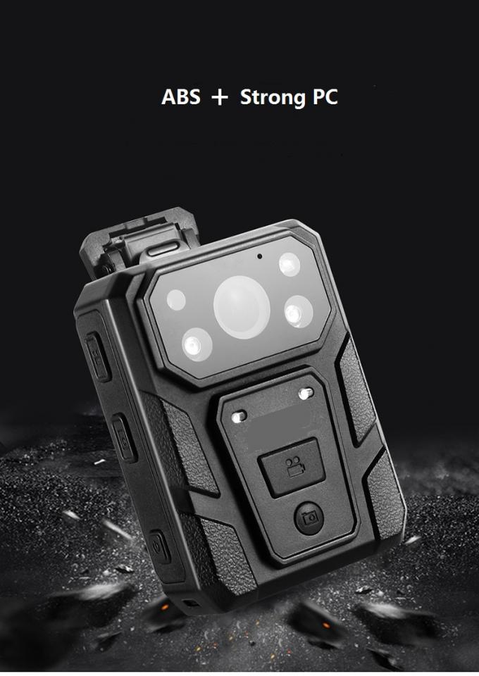 30 FPS Police Body Worn Video Camera 32 Million Pixels 10 Hours Battery Life
