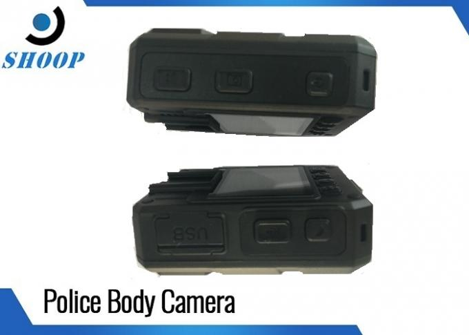 WiFi GPS Police Live PD Law Enforcement Body Camera 3500mAh Battery Capacity