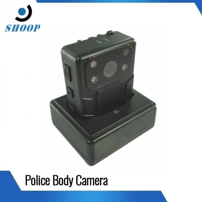 IP67 Waterproof Body Camera Policy 1296P High Resolution With 2 IR Lights