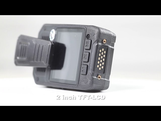 2.0 LCD Display WIFI Police Wearing Body Cameras , Should Cops Wear Body Cameras