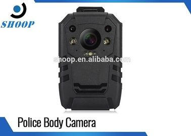 China Digital Video Security Body Worn Police Cameras , Night Vision Body Camera With WiFi GPS distributor
